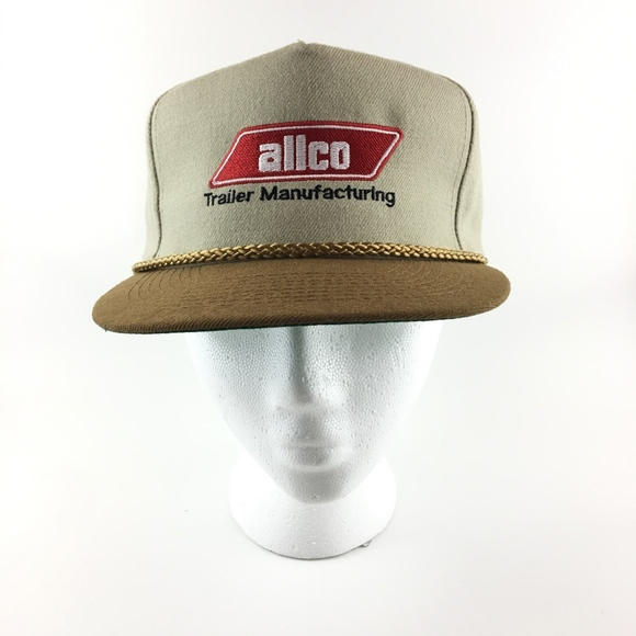 f1c3c866 otto cap Accessories | Vintage Allco Trailer Manufacturing Strapback ...